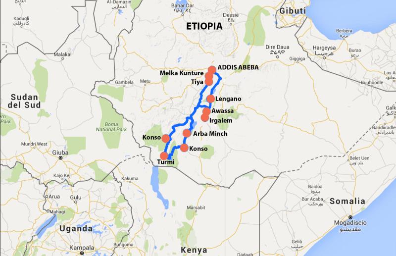 ETIOPIA Salto del toro
