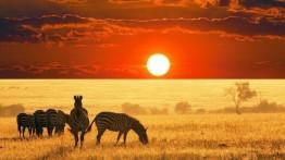 Panorami in Namibia