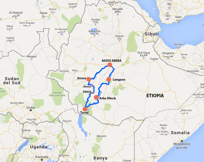 ETIOPIA tribu remote