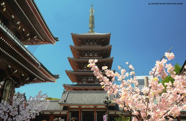 2 TOKYO, Asakusa pagode del tempio Senso-ji, (1)