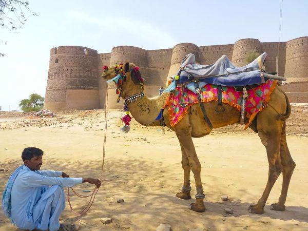 1 copertina Derawar Fort near Bahawalpur