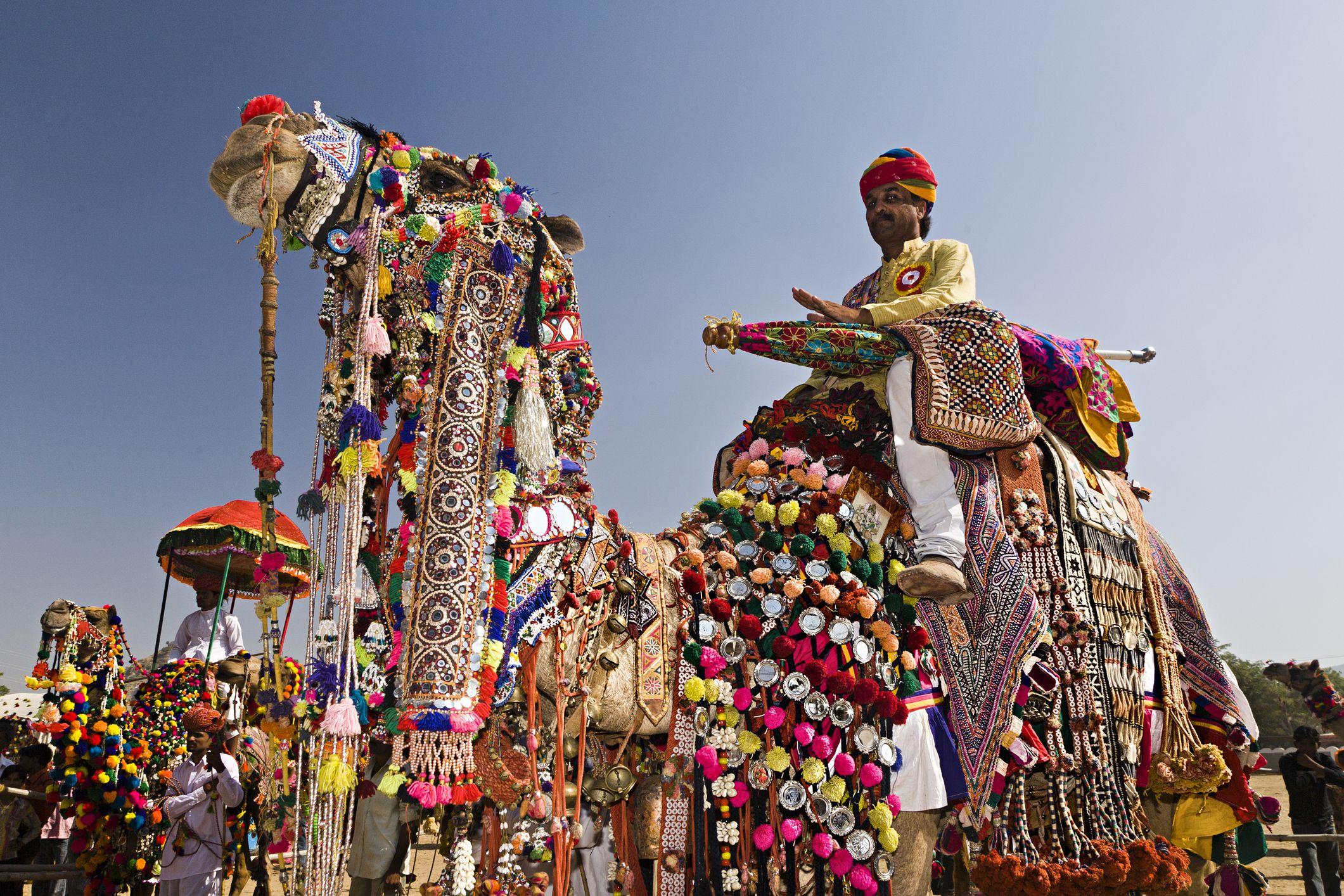 INDIA CAMEL FESTIVAL PUSHKAR